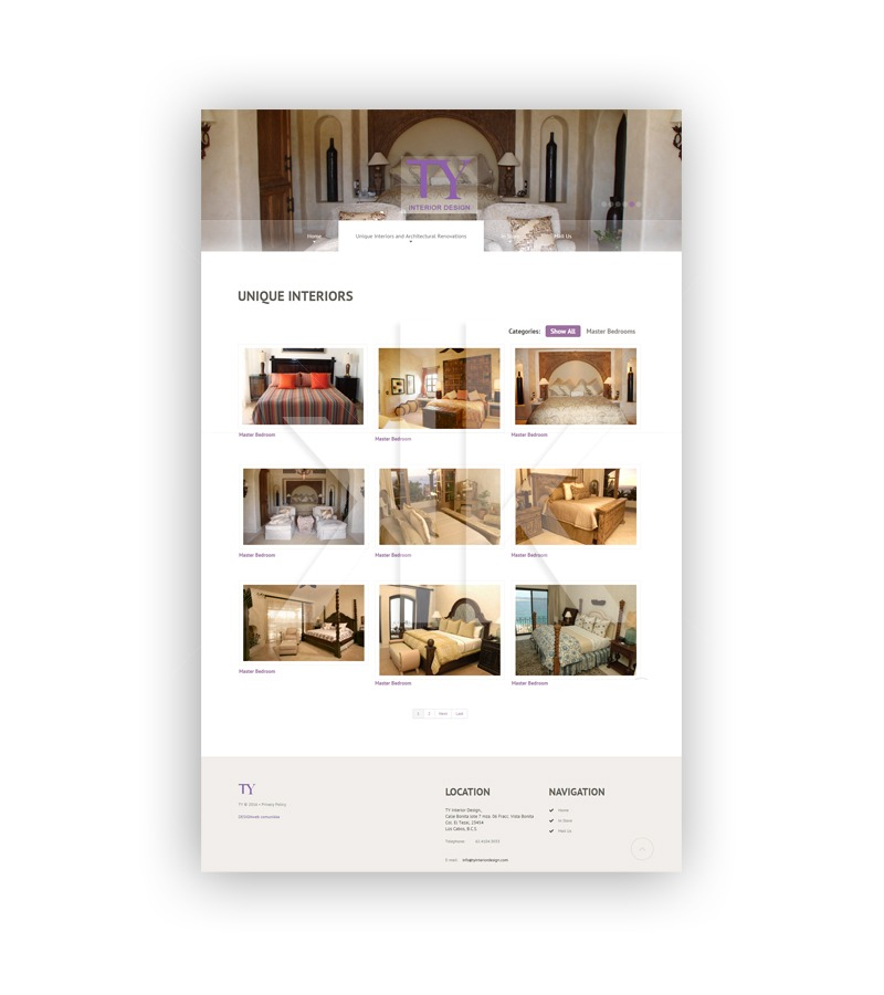 Desarrollo Web Ty Interior Design