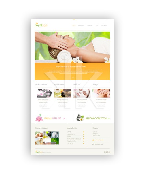 Web RoyalSpa